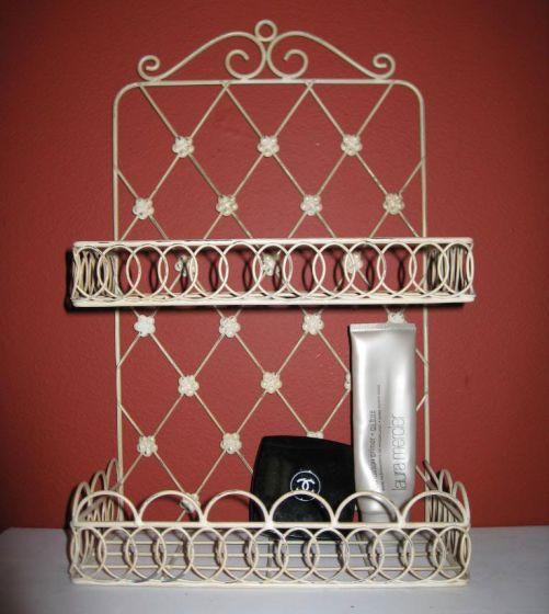 Cute White Wire Shelf