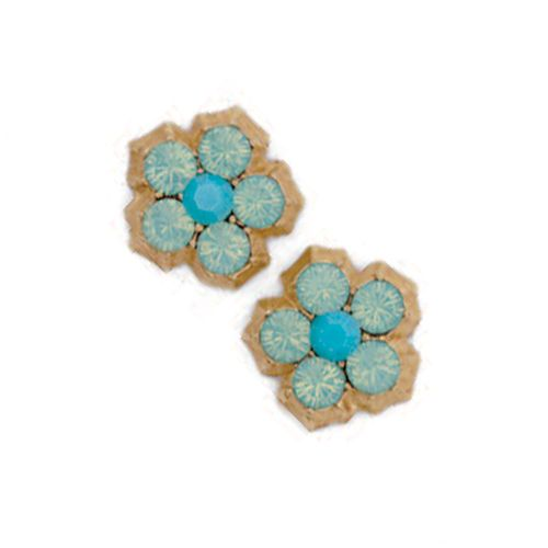 Catherine Popesco Pacific Opal Flower Studs/Post Earrings