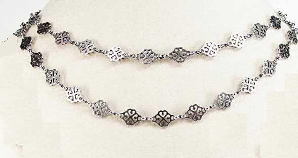 """Catherine Popesco Silver Chain - 40"""""""