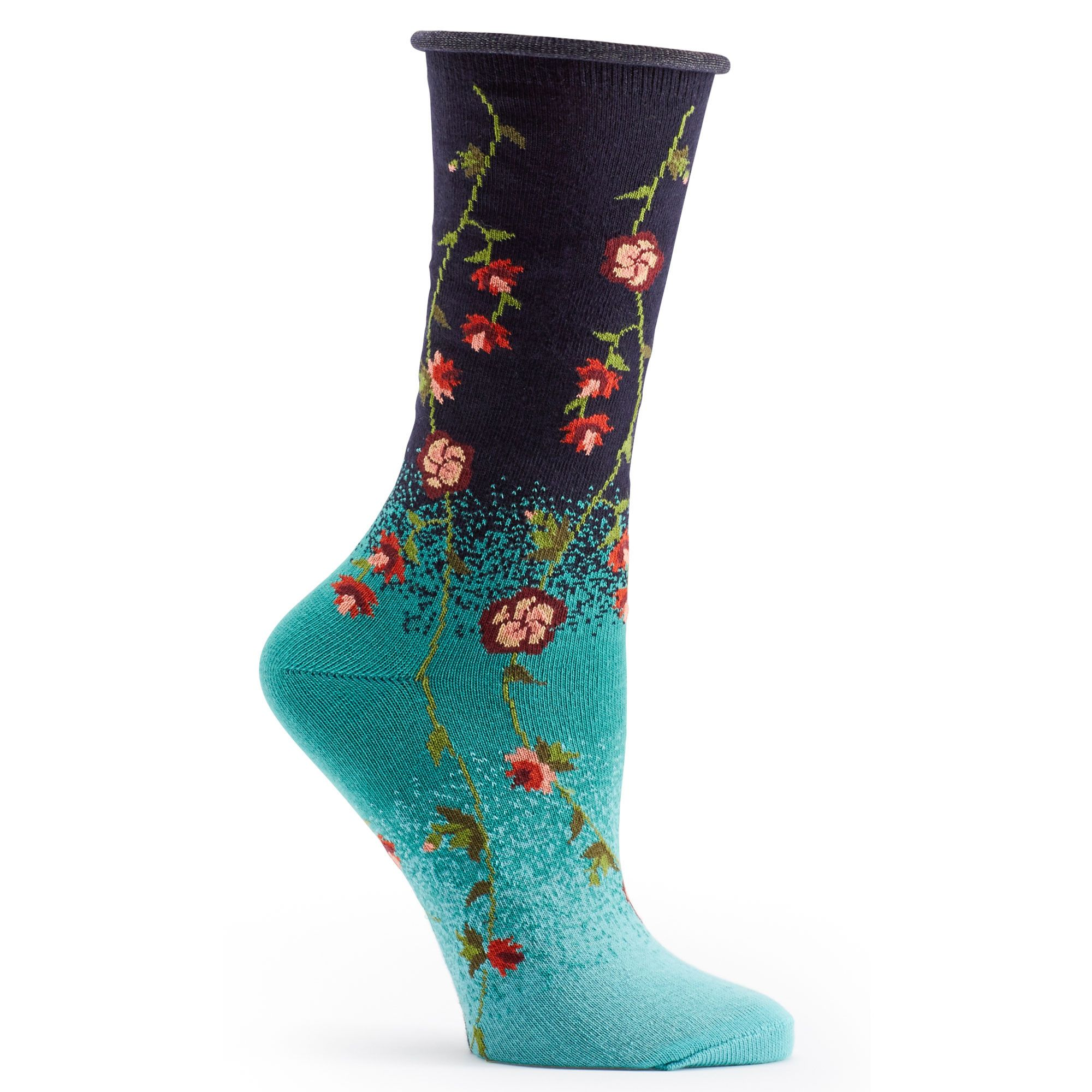 2923976518dbf Ozone Socks Tibetan Flowers Sock - Assorted Colors - Free Shipping!