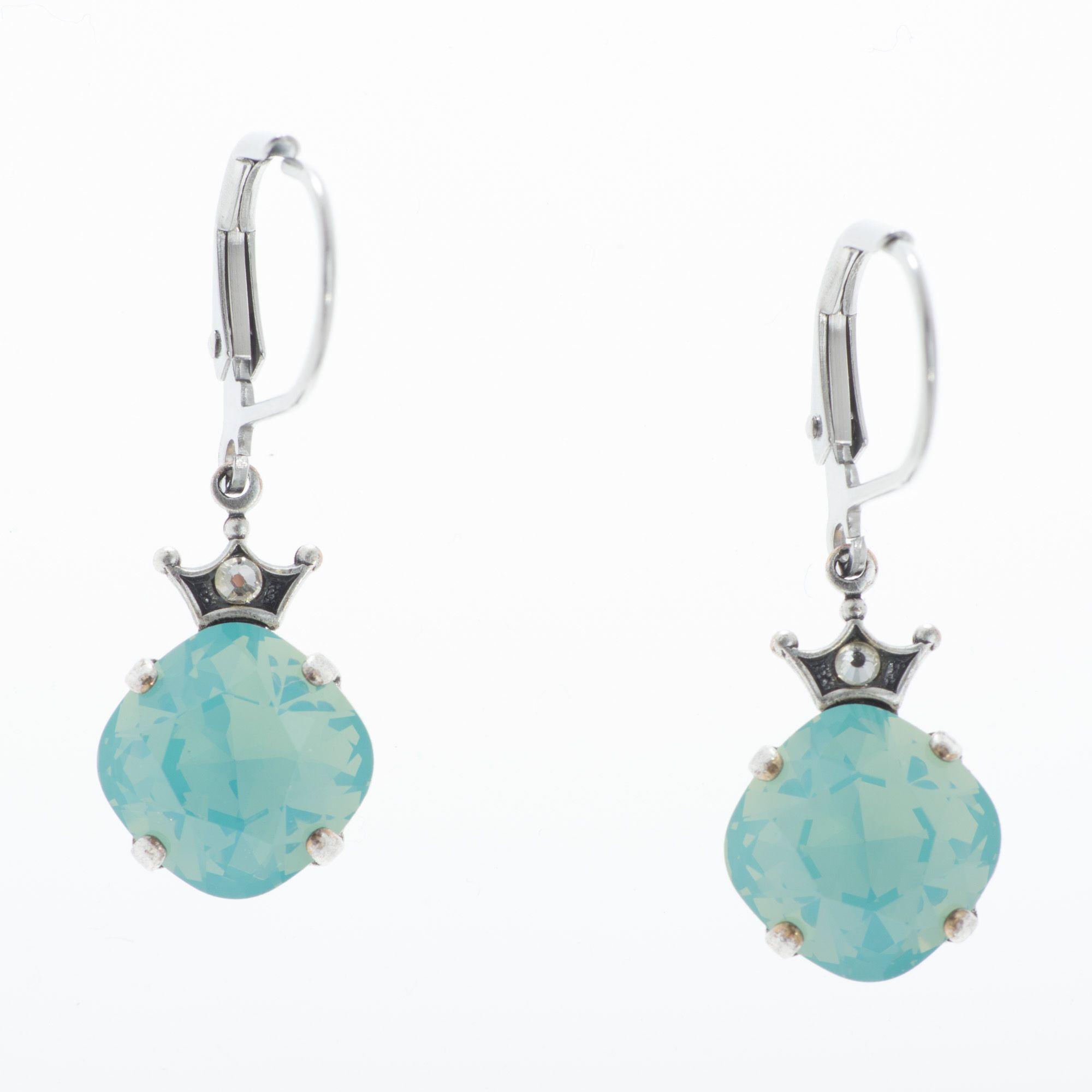3ff61a33a50b5 Square Swarovski Earrings - Best All Earring Photos Kamilmaciol.Com
