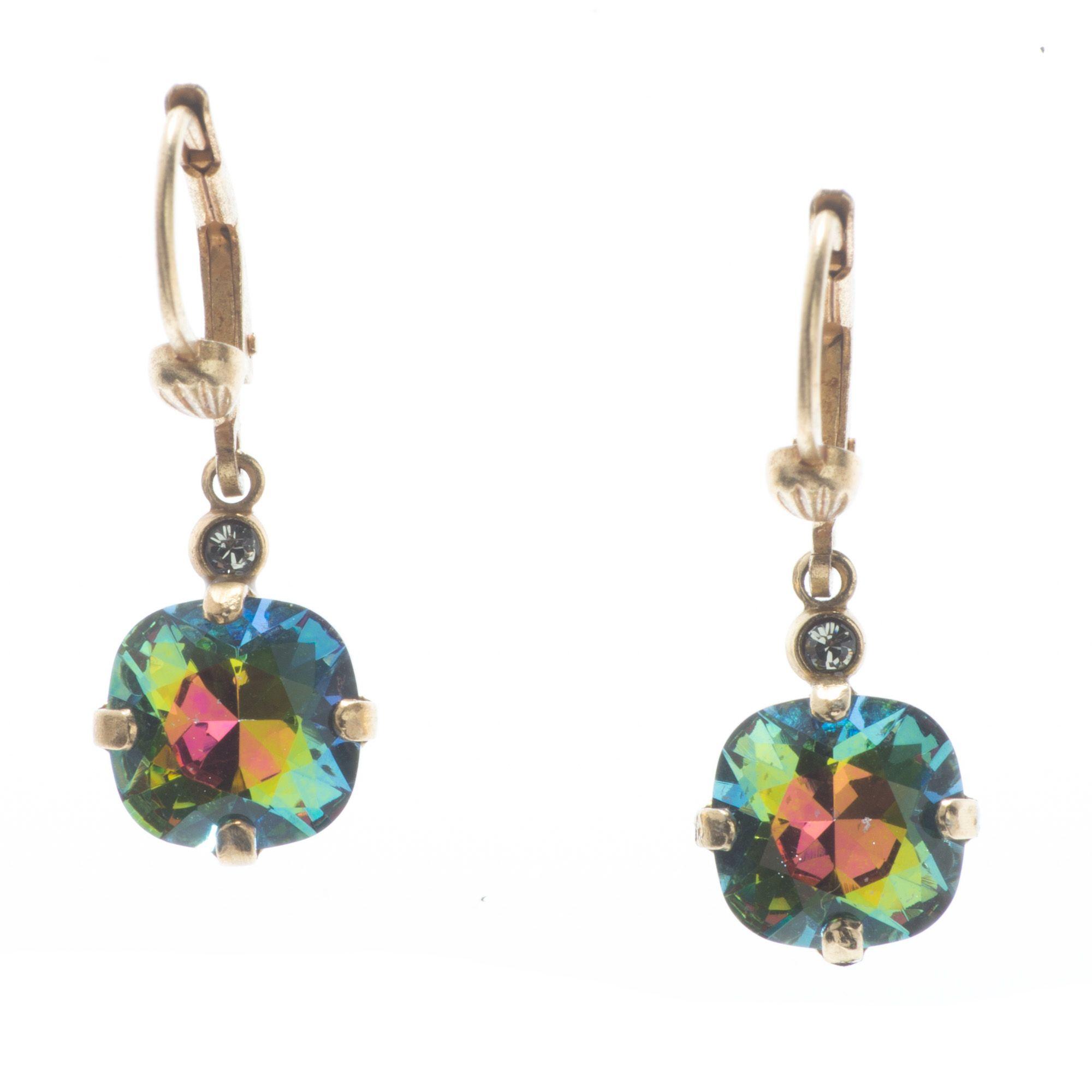 51e9a0c2e9ac3 Sweet! Petite Catherine Popesco 8mm Crystal Dangle Earrings - Assorted  Colors