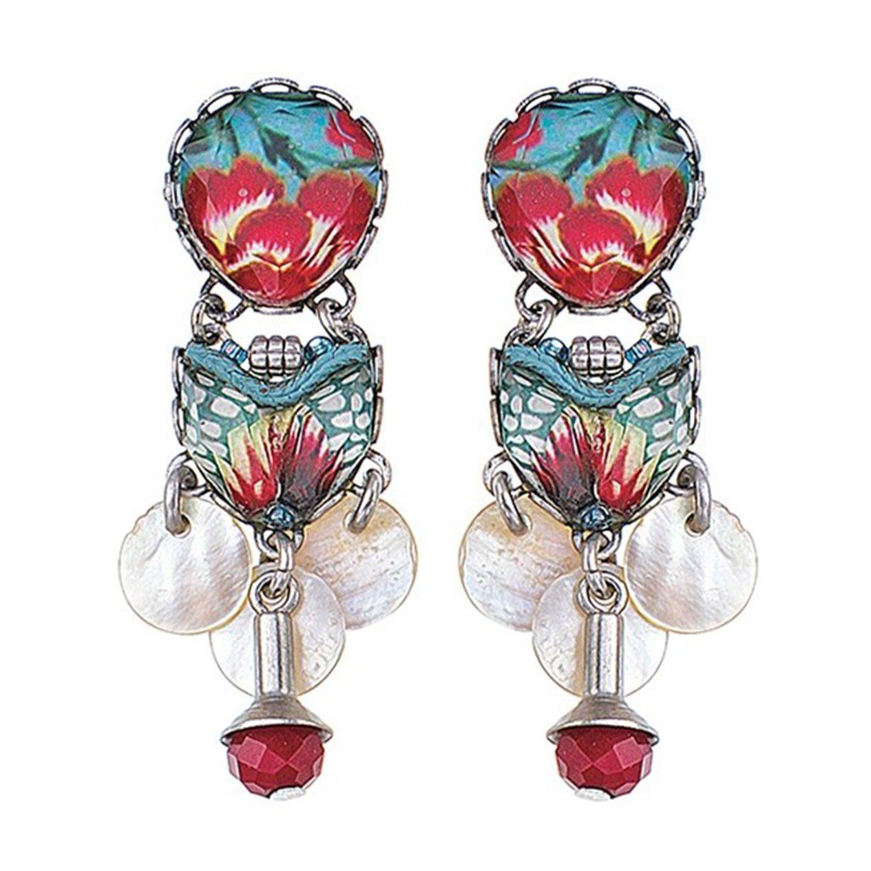 Ayala Bar Israeli Jewelry - Bahia Elision Earrings - Summer 2018