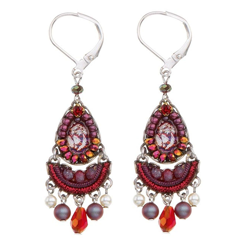 Ayala Bar Israeli Jewelry - Ruby Tuesday Iowa Earrings - Fall/Winter 2018