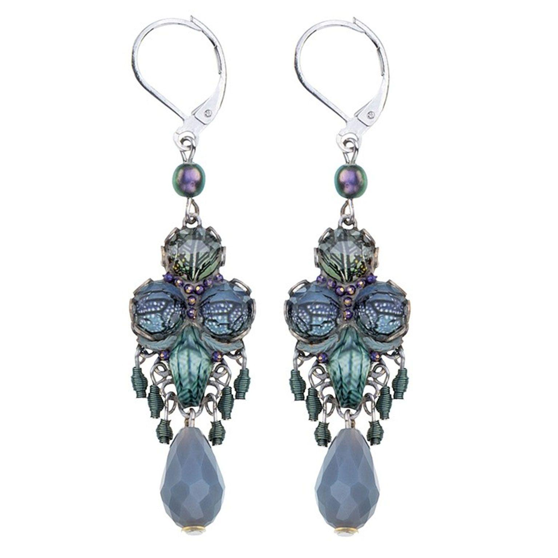 Ayala Bar Israeli Jewelry - Blue Planet Blues Earrings - Fall/Winter 2018
