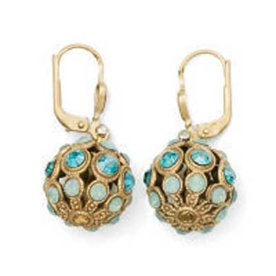 Catherine Popesco Orb Earrings - Gold or Silver - Assorted Colors