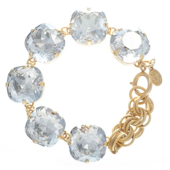 Catherine Popesco 18mm Jumbo Six Stone Bracelet - Shade