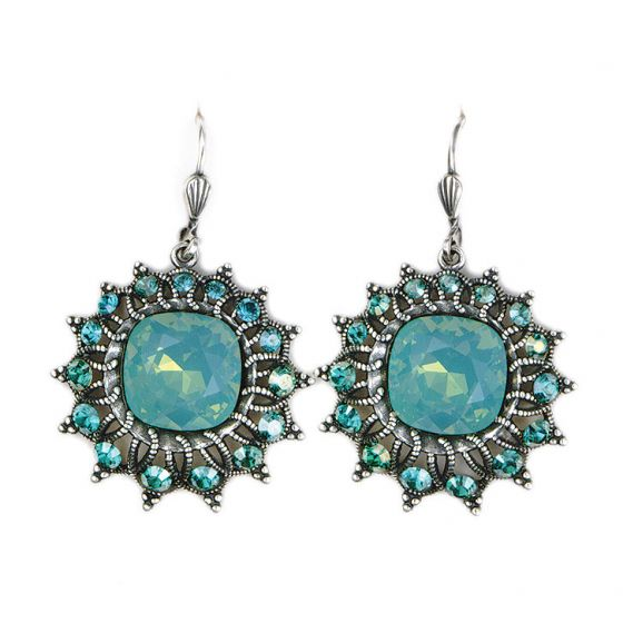 Catherine Popesco Starburst Crystal Earrings in Assorted Colors