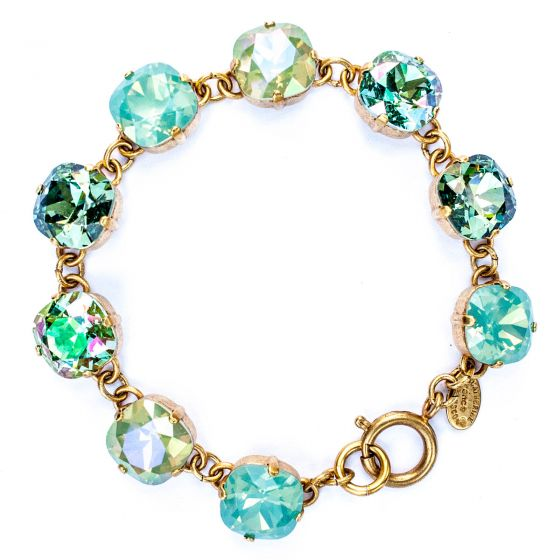 Catherine Popesco Large Stone Crystal Bracelet - Water Combo