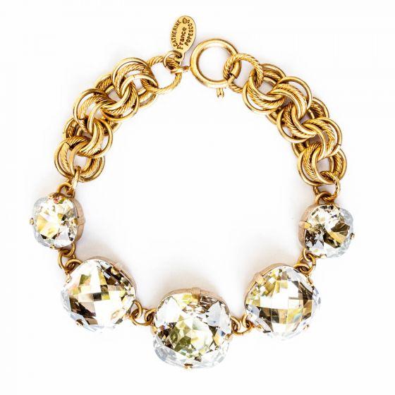 Catherine Popesco Five Stone Bracelet - Shade in Gold