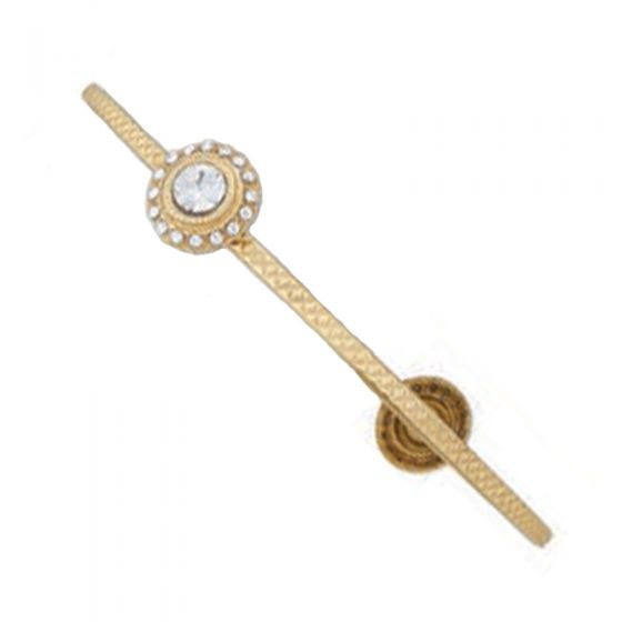 Catherine Popesco Crystal Medallion Bangle Bracelet