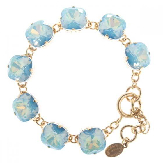 Catherine Popesco Large Stone Crystal Bracelet - Star Blue