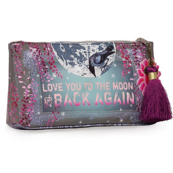 Papaya! Small Accessory Pouch - Love You To The Moon and Back Again