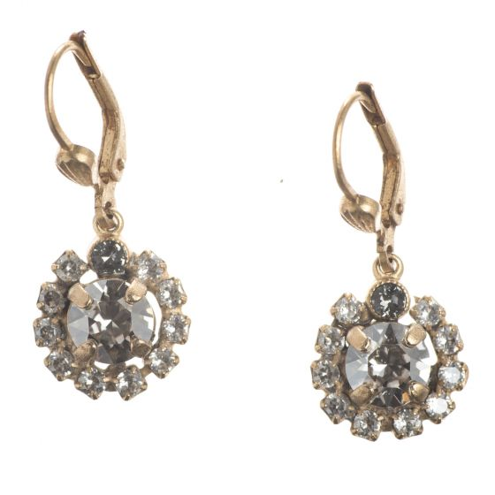 Catherine Popesco Crystal Earrings - Dainty Dangles