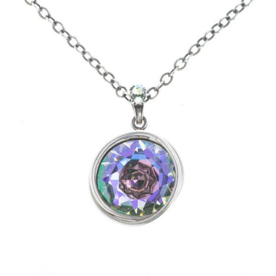 Konplott Jewelry - Sparkle Twist Pendant Necklace - Crystal Paradise Shine