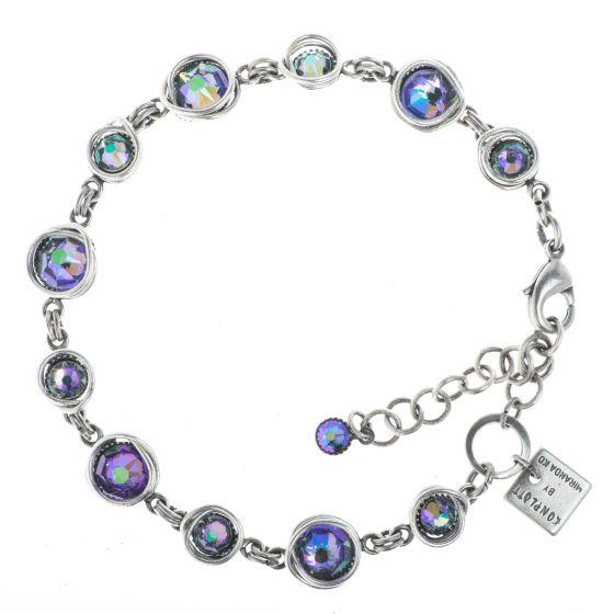 Konplott Jewelry - Sparkle Twist Bracelet - Lila Crystal Paradise Shine