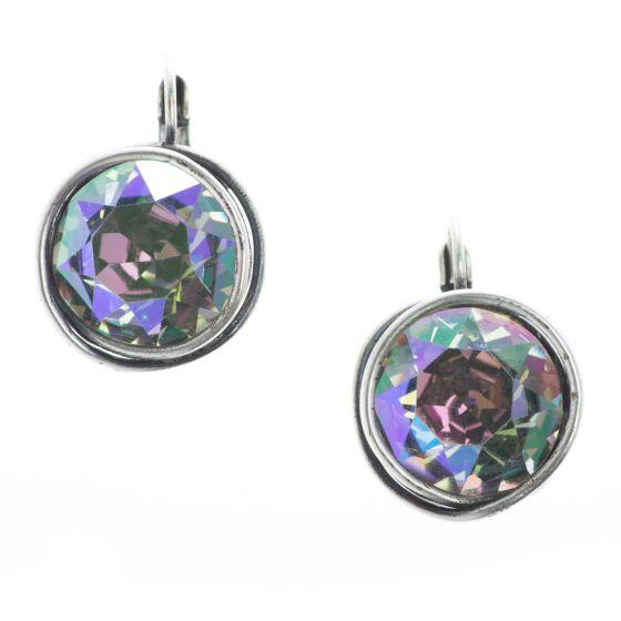 Konplott Jewelry - Sparkle Twist Earrings - Lila Crystal Paradise Shine