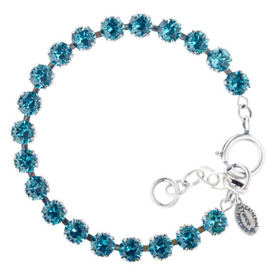 Catherine Popesco Small Stone 6mm Crystal Tennis Bracelet - Assorted Colors