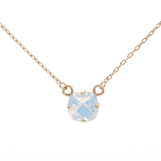 Sweet! Petite Catherine Popesco 8mm Crystal Necklace - Assorted Colors