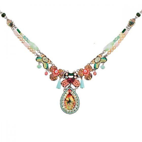 Ayala Bar Israeli Jewelry - Alchemilla Necklace - Summer 2017
