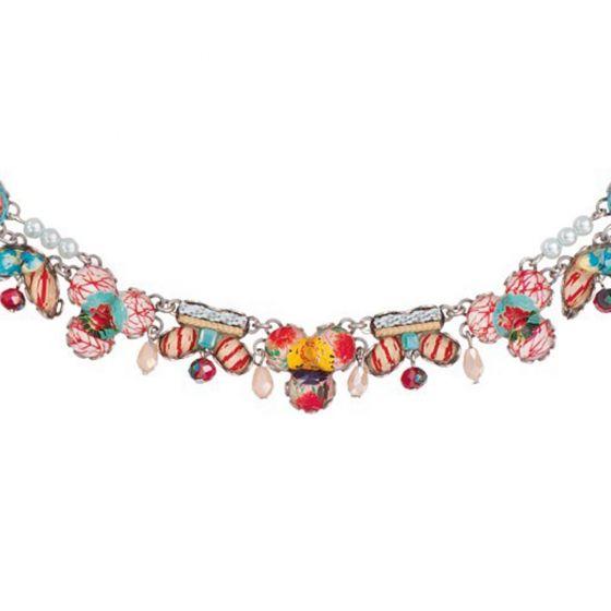 Ayala Bar Israeli Jewelry - Peony Meadow Necklace - Summer 2017