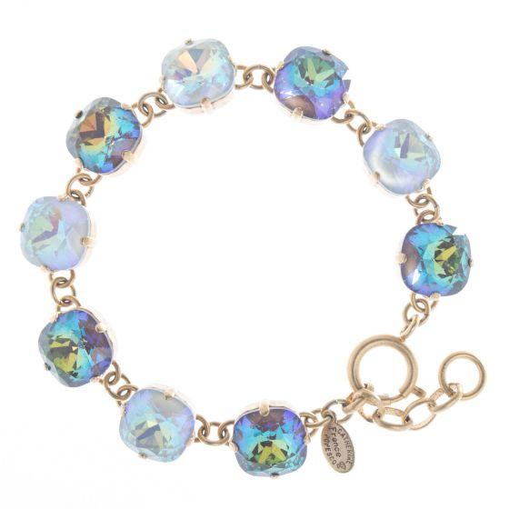 Catherine Popesco Large Stone Crystal Bracelet - Coco Combo