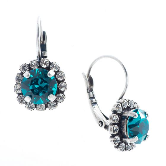 YPMCO Petite Crystal Drop Earrings with Rhinestones - Assorted Colors