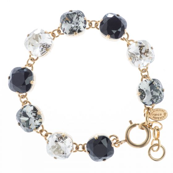 Catherine Popesco Large Stone Crystal Bracelet - Winter Combo