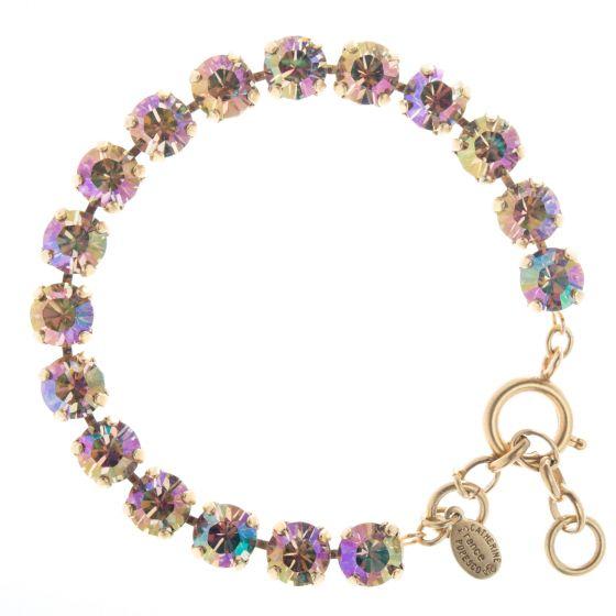 Catherine Popesco 8mm Crystal Tennis Bracelet - Purple Haze