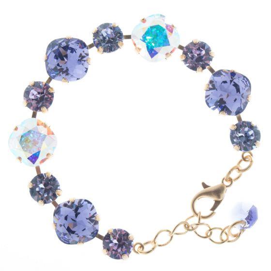 Lisa Marie Jewelry Swarovski Crystal Bracelet - Ultra Violet Combo