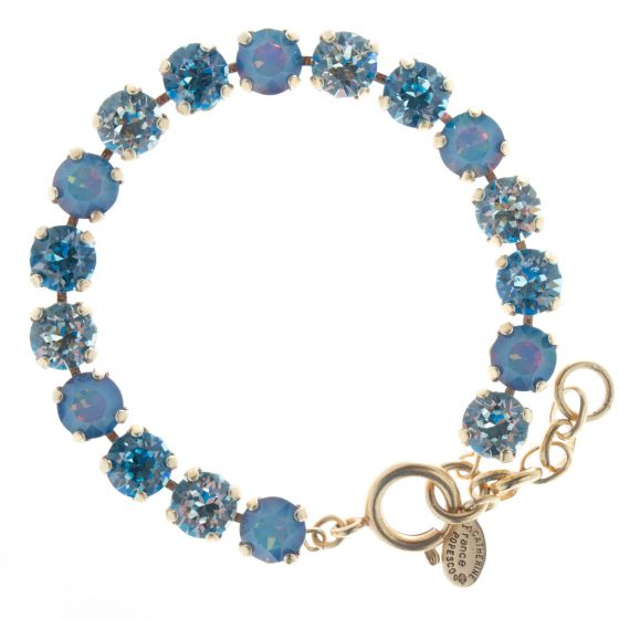 Catherine Popesco Cup-Chain Crystal Bracelet - Electra Ice Combo