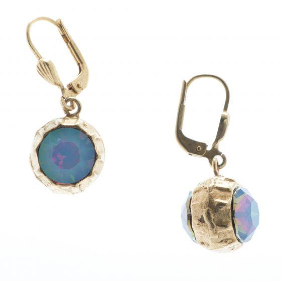Catherine Popesco Two Sided Rhinestone Ball Earrings - Starshine