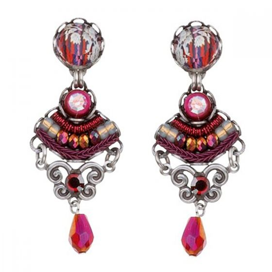 Ayala Bar Israeli Jewelry - Ruby Tuesday Jacinta Post Earrings - Fall/Winter 2018