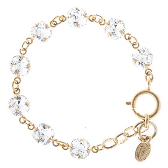 Catherine Popesco Petite Nine Stone Crystal Bracelet - Assorted Colors