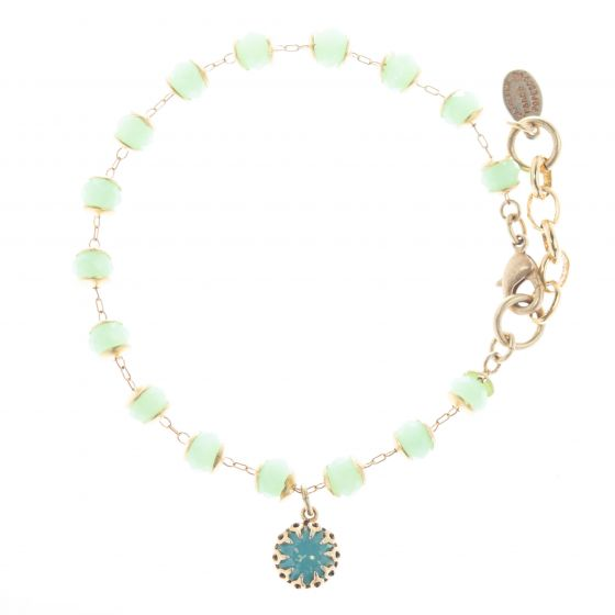 Catherine Popesco Beaded Bracelet - Pacific Opal Crystal