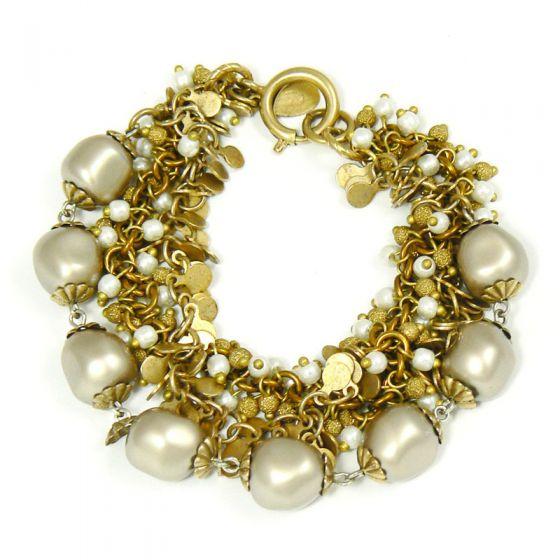 Pearl Catherine Popesco Multi Strand Bracelet by La Vie Parisienne