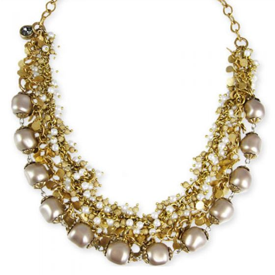 Pearl Catherine Popesco Multi Strand Necklace