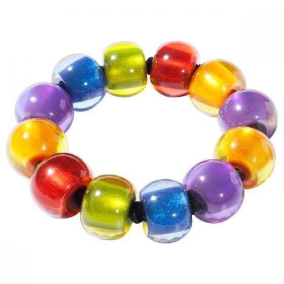 ZSISKA Handmade Designer Bracelet - Colourful Beads - New Spectrum
