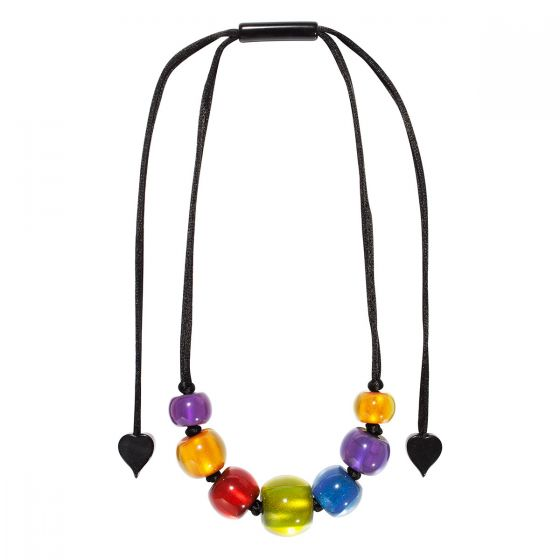 ZSISKA Handmade Designer Necklace - Colourful Beads - New Spectrum