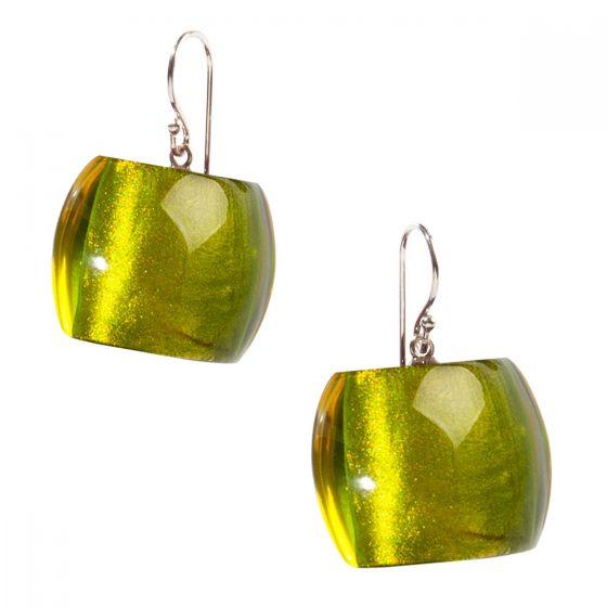 ZSISKA Handmade Designer Earrings - Bellissima Green