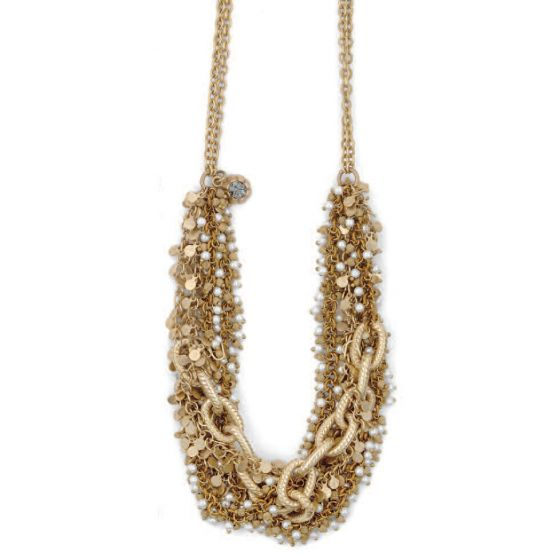 La Vie Parisienne Gold Intertwined Necklace