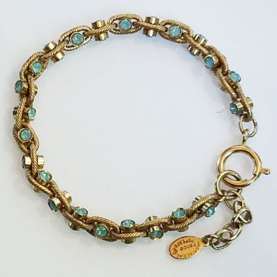 Catherine Popesco Pacific Opal Crystal Rope Chain Bracelet