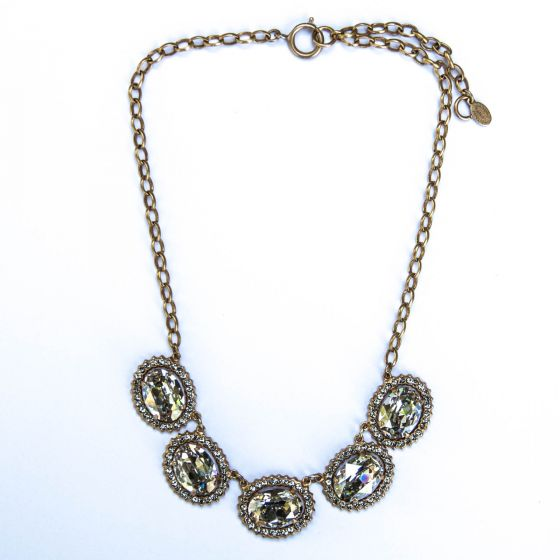 Catherine Popesco The Queen's Jewels Necklace - Shade & Gold
