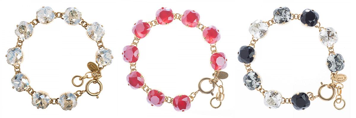 Catherine Popesco Large Stone Bracelets